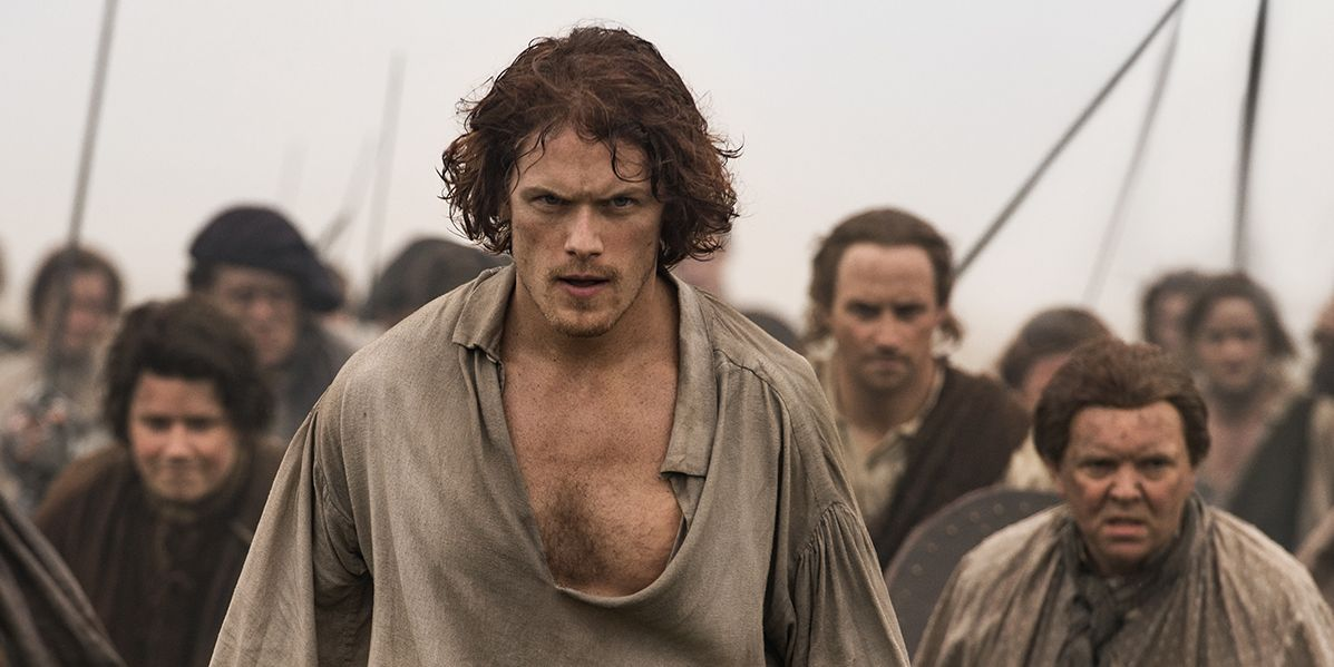 Outlander cast sam heughan