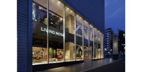 Building, Property, Architecture, Facade, Lighting, Real estate, Commercial building, Mixed-use, Interior design, Glass,
