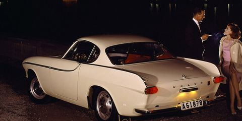 Land vehicle, Vehicle, Car, Coupé, Sedan, Classic car, Volvo cars, Volvo p1800, Notchback, Sports car,