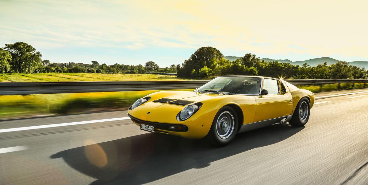 Happy Birthday! Lamborghini's Miura SV Turns 50