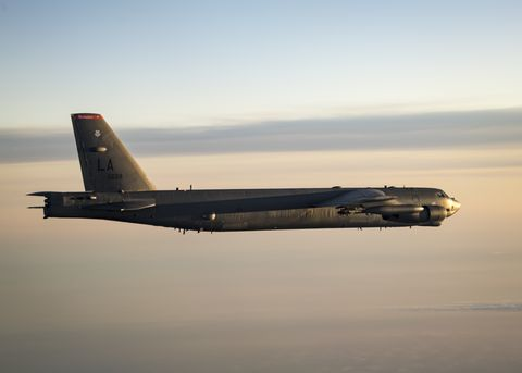 B-52s over the Baltic Sea
