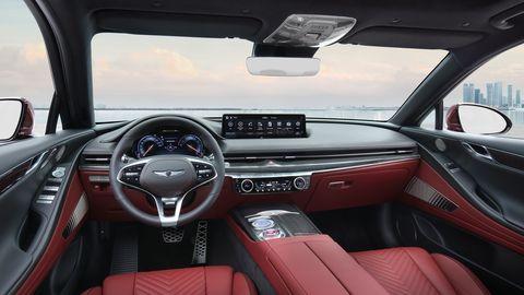 2022 genesis g80 sport interior