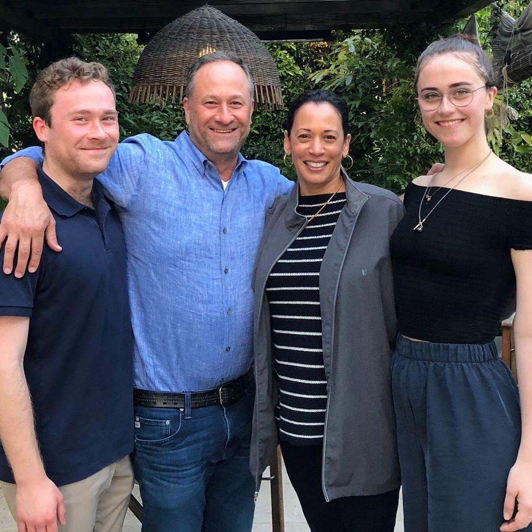 Kamala Harris On Her Step Children Meet Cole And Ella Emhoff