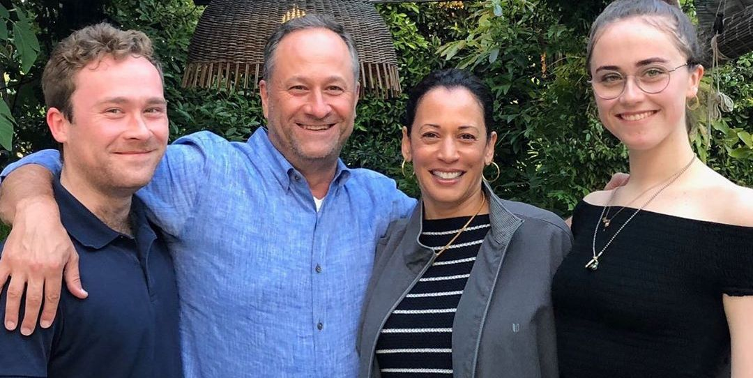 Kamala Harris On Her Step Children Meet Cole And Ella Emhoff