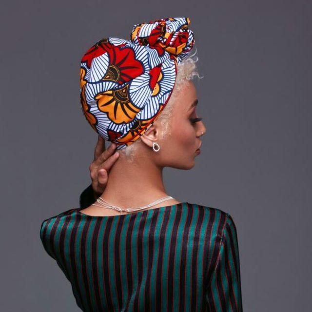 cee cee's closet nyc qamata silk lined white headwrap