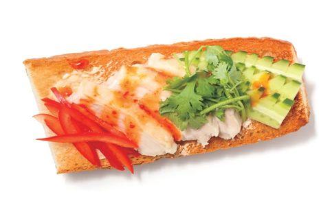 開放三明治