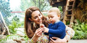 Prince George, Princess Charlotte and Prince Louis Visit Chelsea Flower Show in New Photos