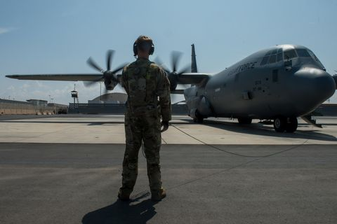 75th Expeditionary Airlift Squadron brings supplies to U.S. forces in Horn of Africa