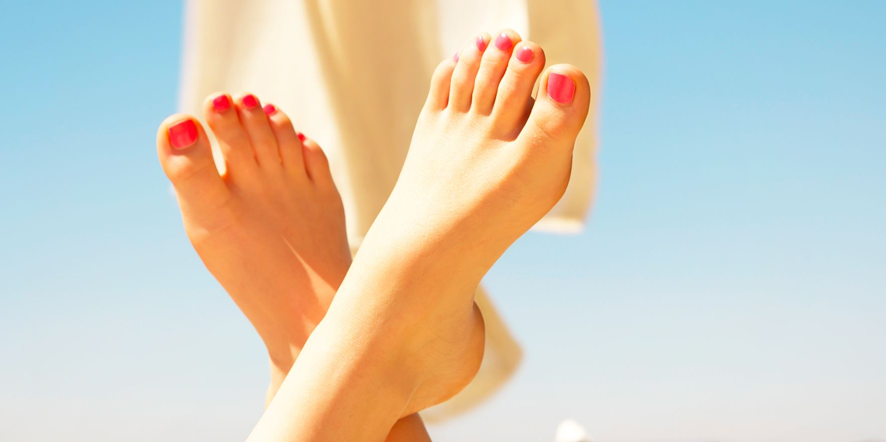 Woman's Feet Toes
