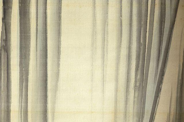円山応震《瀑布》1837年