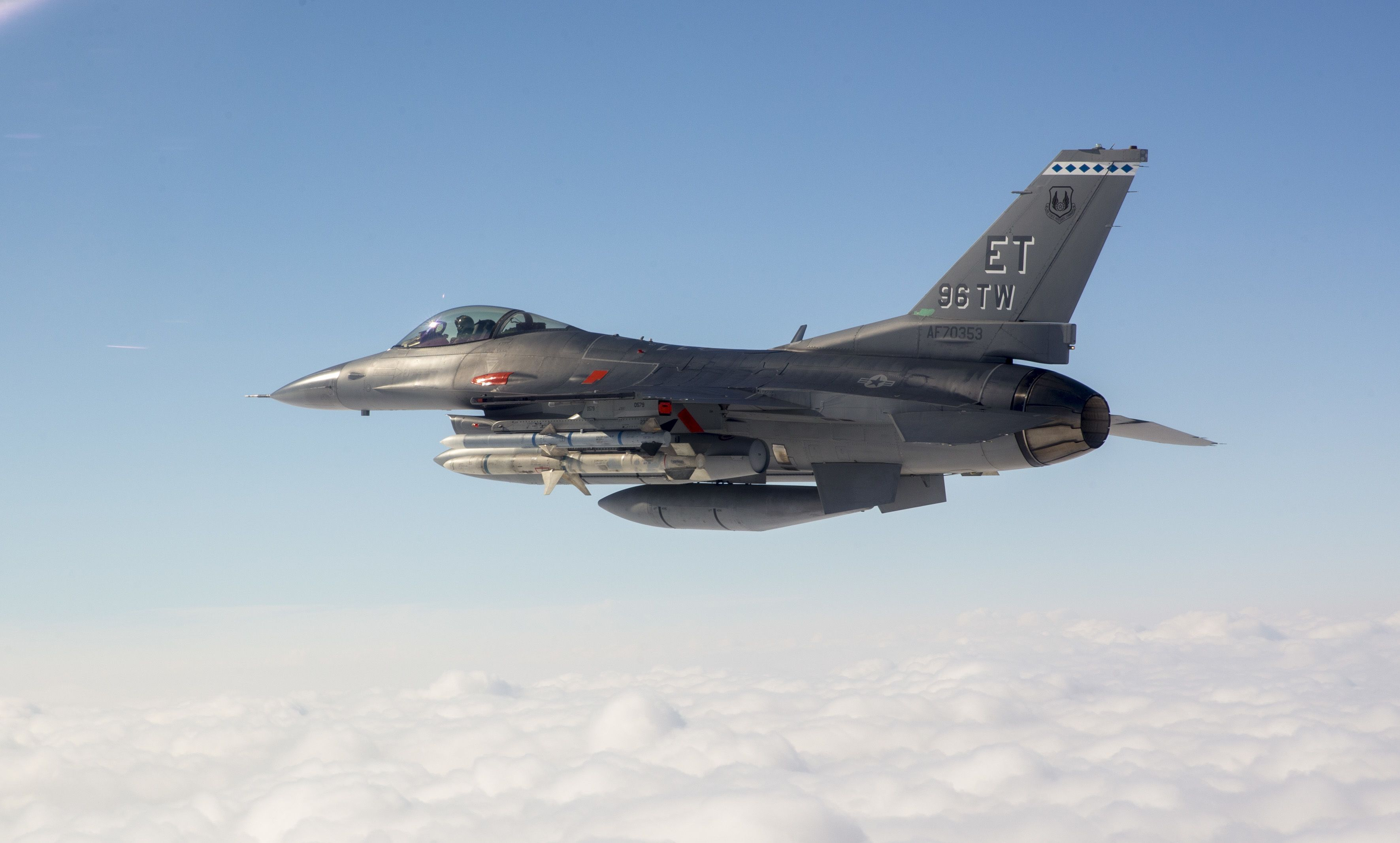 An F-16 Shot Down a Cruise Missile with a Rocket