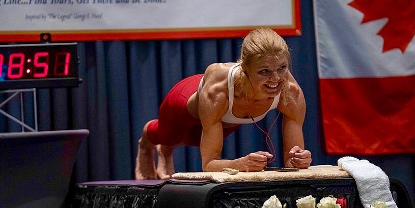 Watch This Woman Set A World Record For Holding The Longest Plank Of All Time