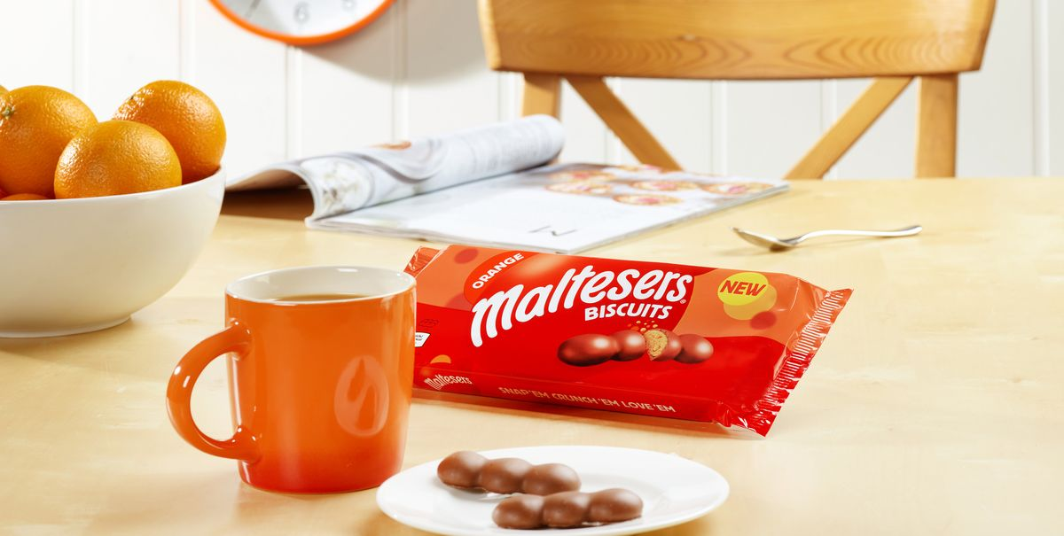 Orange Maltesers Biscuits are coming soon and we can't wait