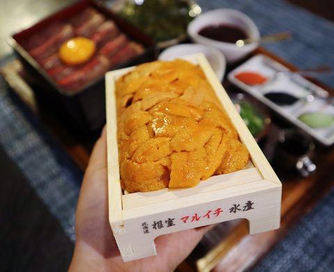 《開丼》海膽三吃「北海道三倍爆膽王丼 」,做成手捲、燒肉壽司超級滿足啊