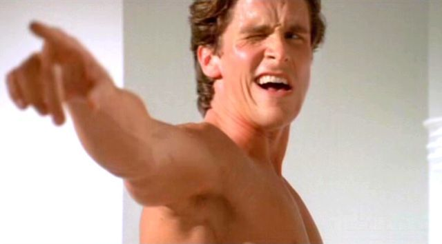 Christian Bale Says He'd Never Been to a Gym Before Making American Psycho