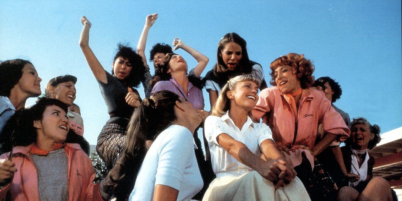 Olivia Newton-John And Didi Conn In 'Grease'
