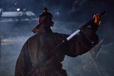 Darkness, Screenshot, Fictional character, Digital compositing, Pc game, Gunfighter,