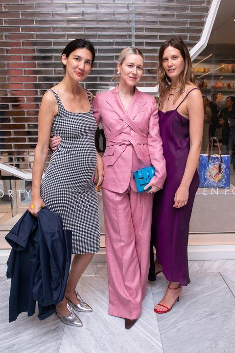 Clothing, Fashion, Dress, Purple, Fashion design, Event, Formal wear, Gown, Haute couture, Cocktail dress,