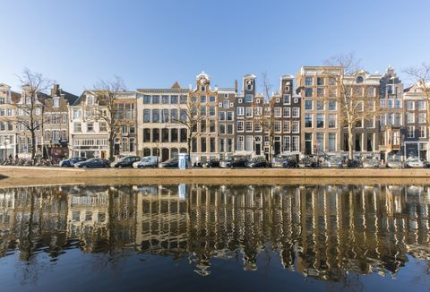 Reflection, Water, Waterway, Architecture, Building, Canal, Landmark, Urban area, City, Human settlement,