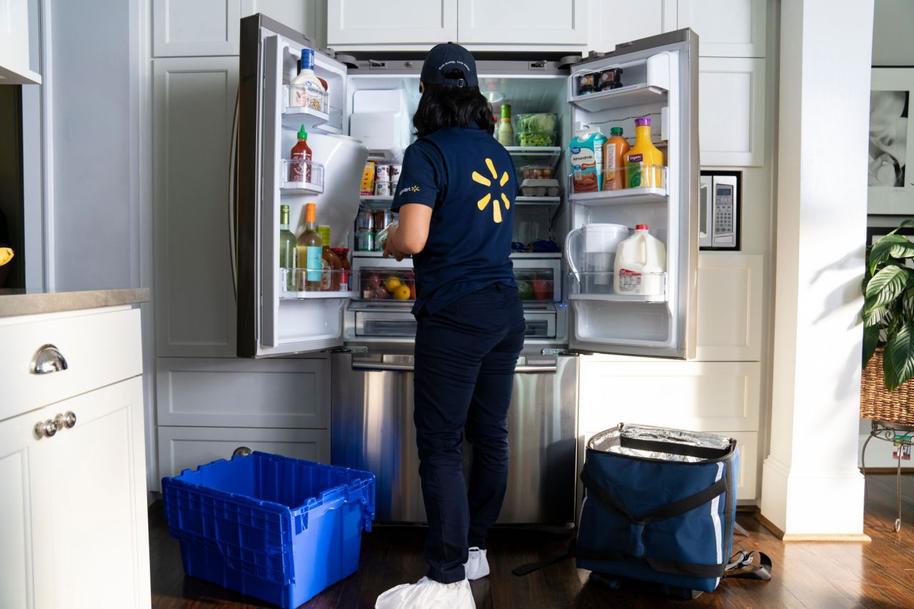 Walmart Is Testing InHome, A Service That Delivers Groceries Straight To Your Fridge