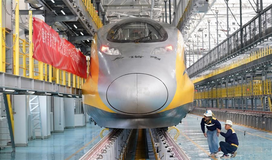 China Sure Is Building a Lot of High-Speed Rail