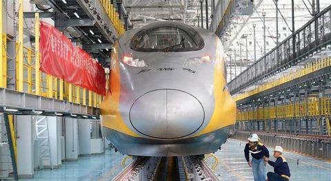 high speed rail china