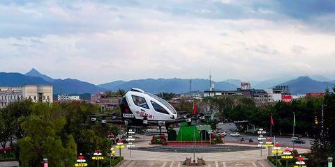 EHang coche volador