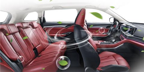 Changan Automobile filtro coche coronavirus