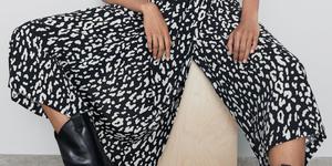 Zara pantalón falda