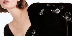 Uterqüe vestido negro