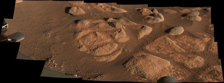Il mistero delle strane rocce trovate su Marte da Perseverance