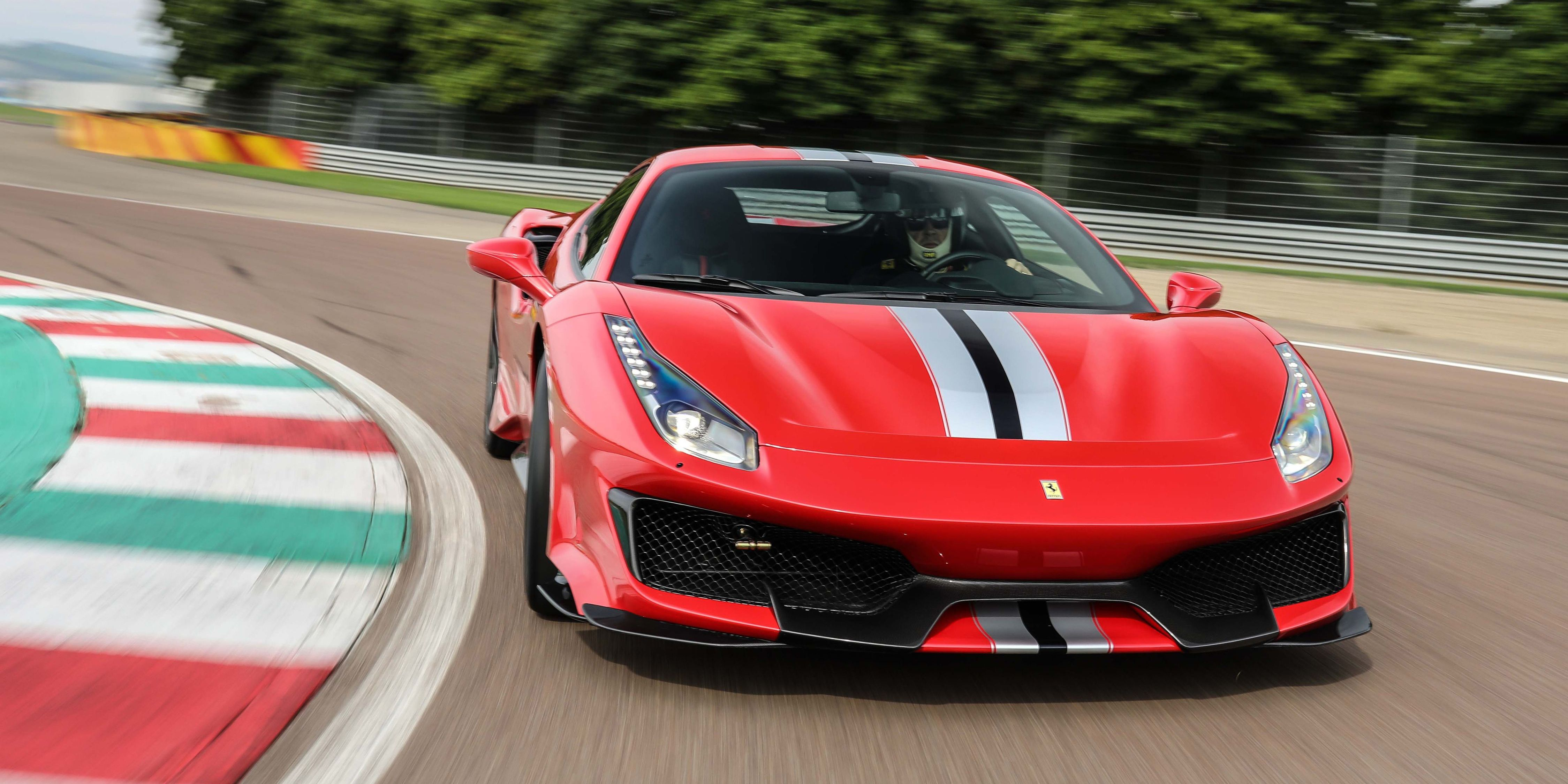 Ferrari Is Working On A Mid Engine Car To Sit Above The 488 Supercar Diagram