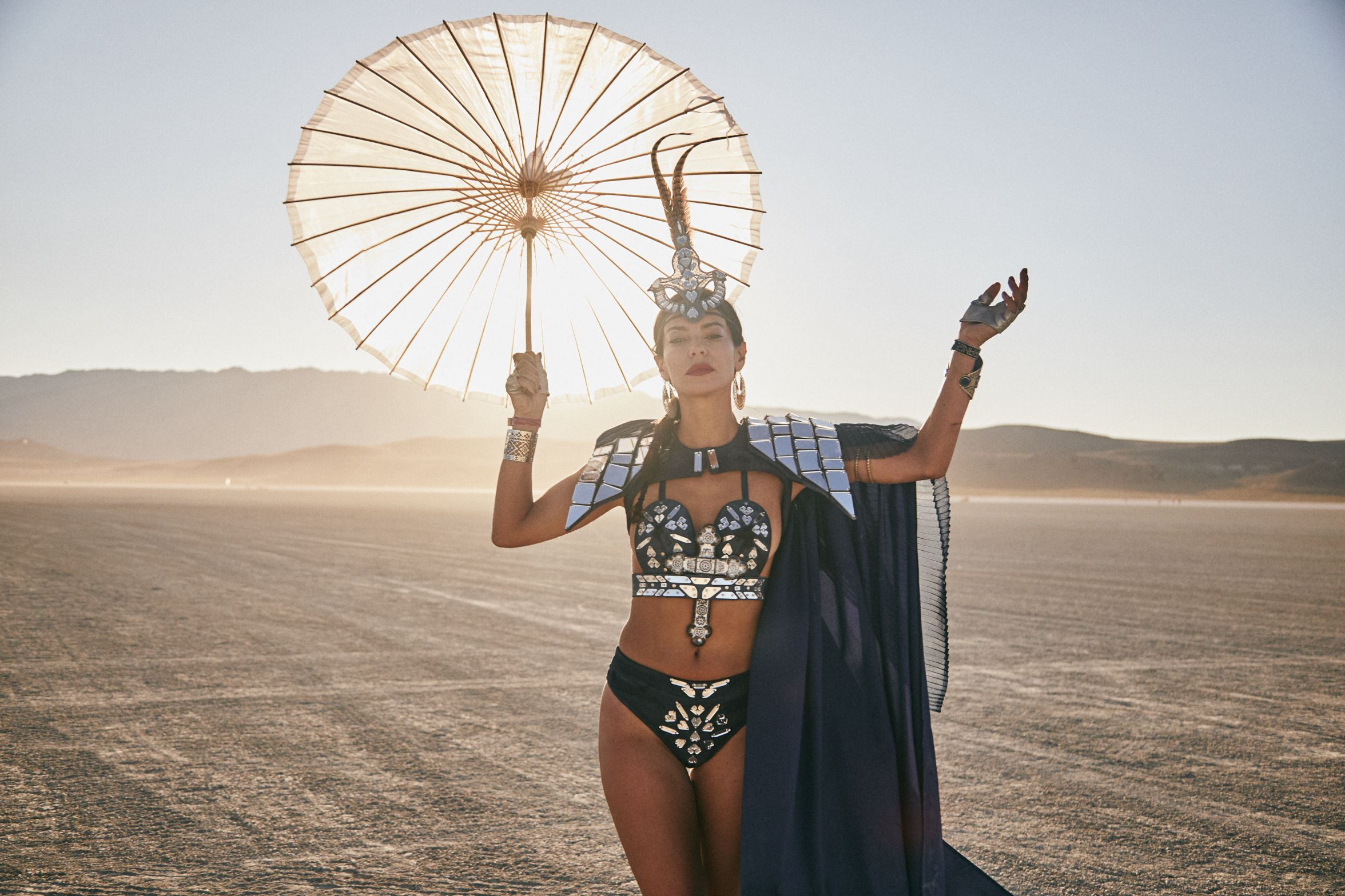 The Most Insane Fashion Looks from Burning Man 2019