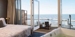 5X slapen aan het strand Nederland