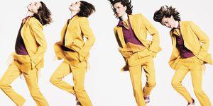穿搭, Suit, colorful, fashion, MAX MARA , PETIT BATEAU , STUART WEITZMAN