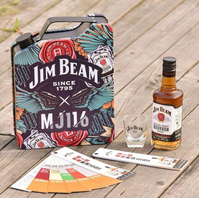 金賓美國波本威士忌攜手「頑童mj116」推出jim beam x mj116「刺青版」聯名mini bar