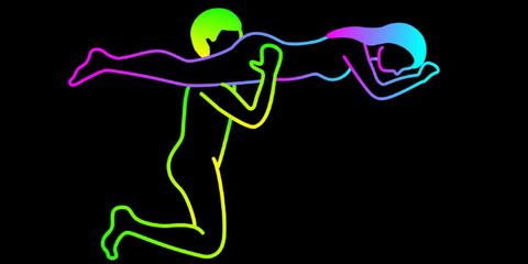 Graphic design, Neon, Graphics,