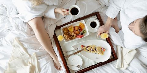 bed in breakfast