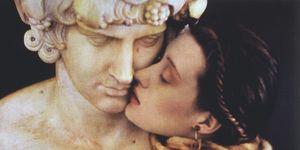 Sheila Metzner, The Kiss, Fendi 1986, moda, fashion photography