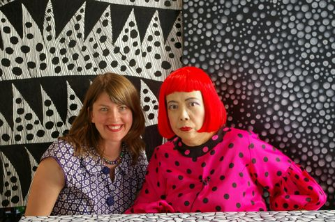 Director Heather Lenz and artist Yayoi