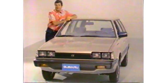 1987 subaru dl wagon tv commercial