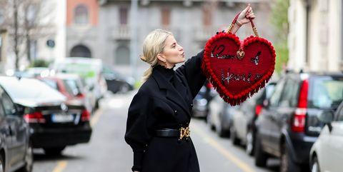 Caro Daur Street Style Dolce & Gabbana