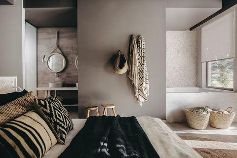 dormitorio wabi sabi