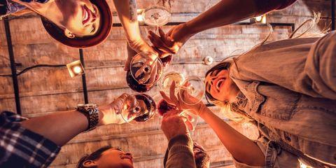 geen alcohol drinken