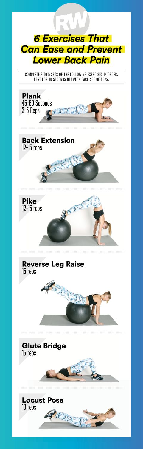 Lower Back Exercises 6 Stretches For Lower Back Pain Relief