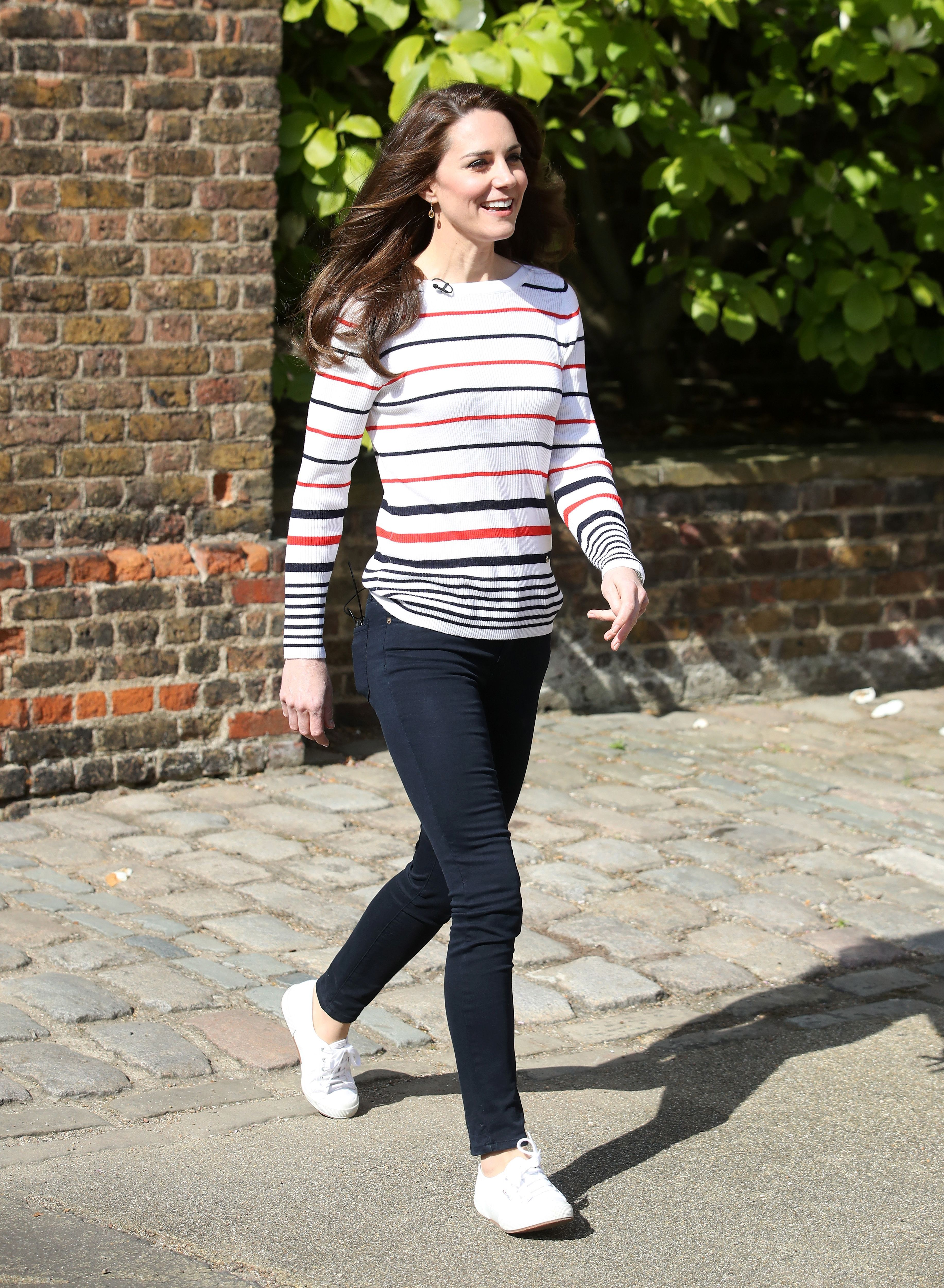 Shop Now Superga Cotu Sneakers, $65 Kate wasn't the first royal to purchase a pair of these affordable Italian sneakers— Princess Diana wore them, too .