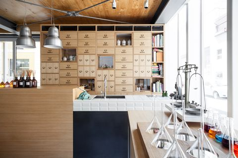Building, Interior design, Property, Room, Architecture, Loft, Furniture, Design, House, Material property,