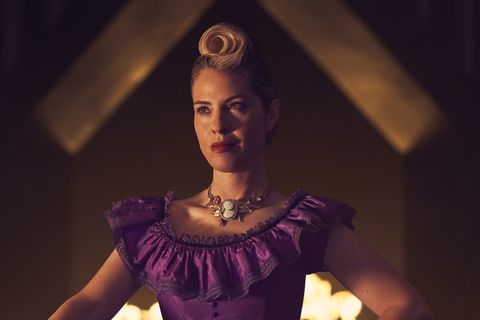 american horror story coven redhead witch