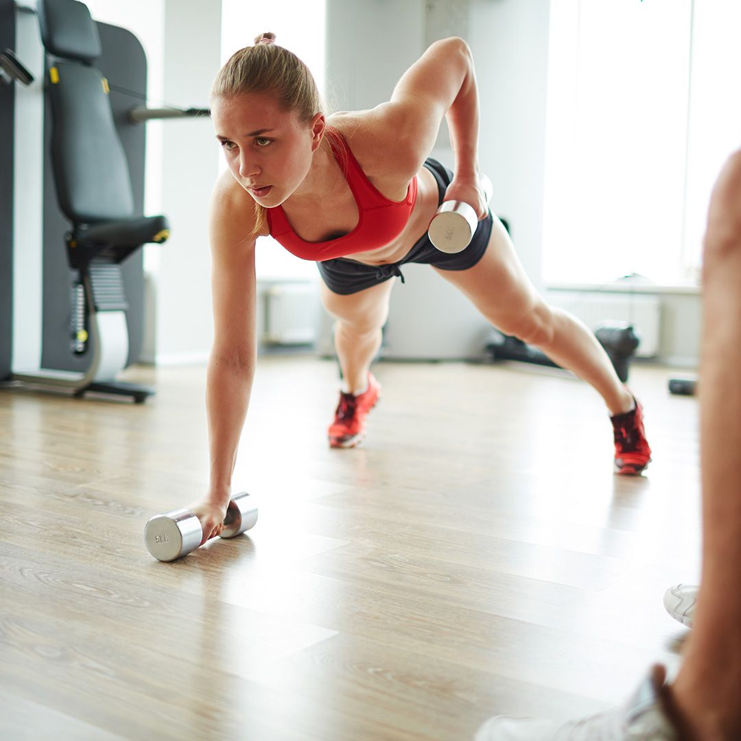 How to pump up a press using a few simple exercises