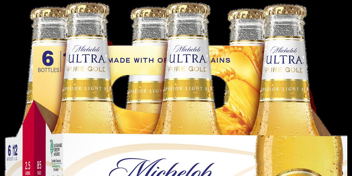 Michelob Ultra Pure Gold - Michelob's